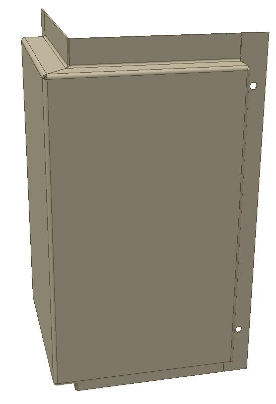 металлокассета фронтальная